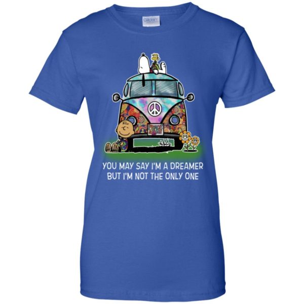 Snoopy Charlie You May Say I'm A Dreamer But I'm Not The Only One Shirt