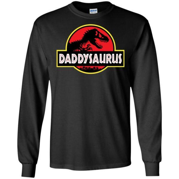 Daddysaurus and Jurassic Park Shirt