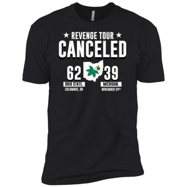 Revenge Tour Canceled Ohio State Buckeyes Shirt