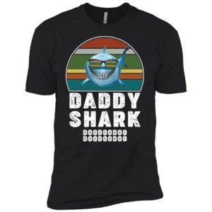 Daddy Shark Retro Shirt