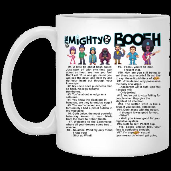The Mighty Boosh Quote White Mug