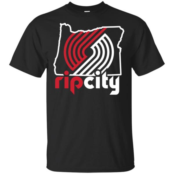 Portland Trail Blazers 2019 Playoffs Rip City Shirt
