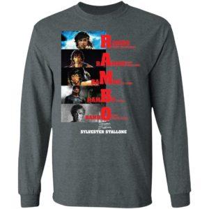 Rambo All Season Sylvester Stallone Signature Shirt