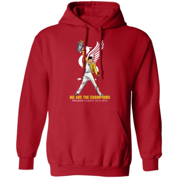 Freddie Mercury ft Liverpool We Are The Champion 2019 2020 Shirt