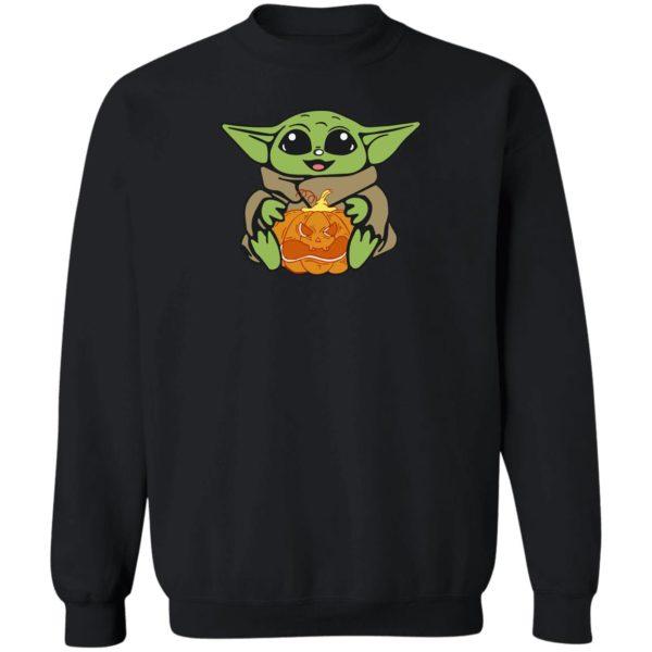 Baby Yoda Hug Pumpkin Shirt