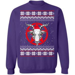 Satanic Pentagram Christmas Shirt