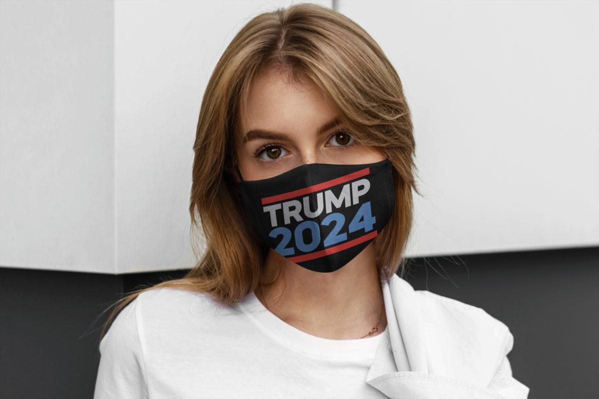Trump 2024 Face Mask