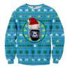 Dolphin Snowflake 3D Printed Christmas Sweatshirt