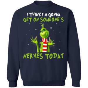 The Grinch I Am Sorry The Nice Respiratory Therapist Is On Vacation Christmas Shirt