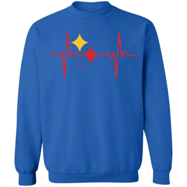 Steeler Heartbeat Steeler For Life Shirt