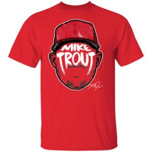 Mike Trout Player Silhouette Shirt